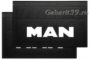 Брызговики MAN 580 x 360 мм (к-кт 2 шт) Арт.1112