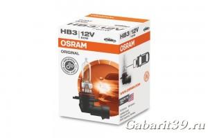 Автолампа 12V OSRAM original HB3 60W 1 шт.