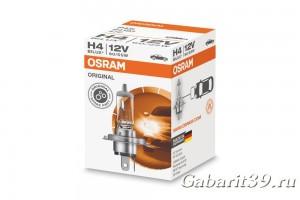 Автолампа 12V OSRAM bilux original H4 60/55W 1 шт.