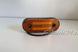 Фонарь габаритный ТАС147-00 желтый светодиодный Schmitz