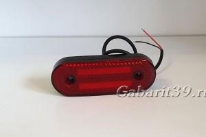 Фонарь габаритный ТАС красный светодиодный Schmitz