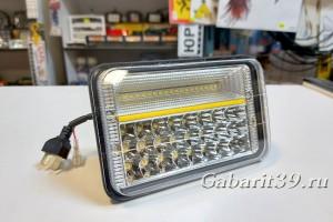 Фара LED 10-30V 131W / flood с ходовой COB-лампой