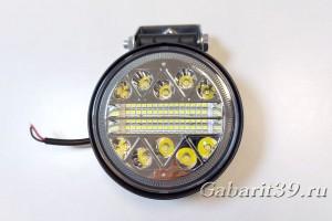 Фара LED 10-30V 120W / spot (круглый корпус)