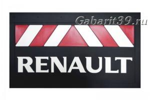 Брызговики RENAULT 580 x 360 мм (к-кт 2 шт) Арт. 37911
