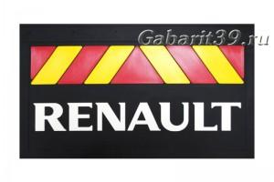 Брызговики RENAULT 580 x 360 мм (к-кт 2 шт) Арт. 37921