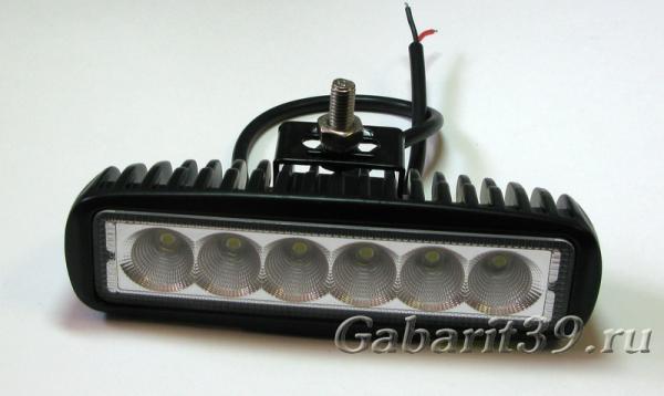 Фара LED 18W / flood (506)
