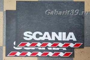Брызговики SCANIA 600 x 400 мм (к-кт 2 шт) Арт.521