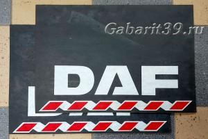Брызговики DAF 600 x 400 мм (к-кт 2 шт) Арт.522