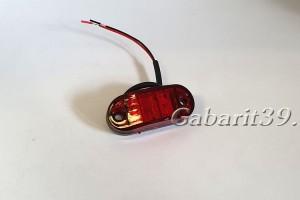 Фонарь габаритный ТАС 62-02 красный светодиодный