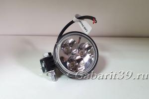 Фара LED 9W  (EPISTAR / 3x3W)  SPOT (круглая 8 см)