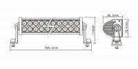 Балка LED E 72W / spot (429)