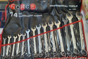 FORCE 5141 Набор ключей 14 пр. (10-32 мм)