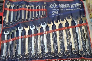 KING TONY Набор ключей 26 пр.1226MR (6-32 мм)