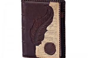 Ежедневник в обложке из натуральной кожи (в ассортименте)