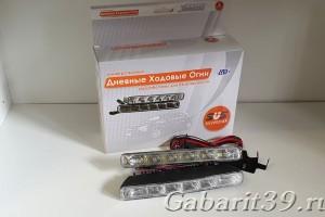 Дневные ходовые огни 12V DRL-602A (к-кт 2 шт)