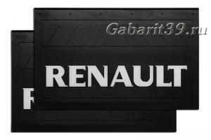 Брызговики RENAULT 580 x 360 мм (к-кт 2 шт) Арт.1115