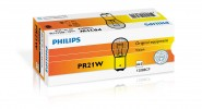 Автолампа 12V PHILIPS PR21W RED