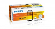 Автолампа 12V PHILIPS RY10W YELLOW