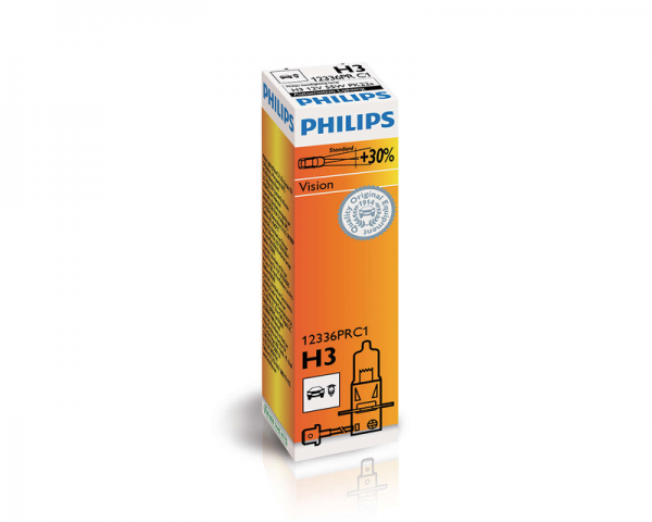 Автолампа 12V PHILIPS H3 55W PREMIUM
