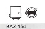 Автолампа 12V PHILIPS P21/4W