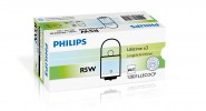 Автолампа 12V PHILIPS R5W Lifetime Eco Vision
