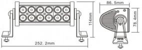 Балка LED E 36W / combo (247)