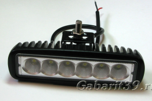 Фара LED 18W / flood (506)