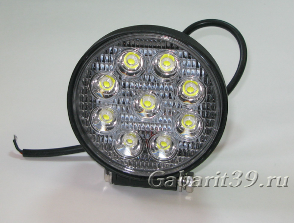 Фара LED 27W / flood LA (537)