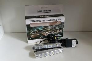 Дневные ходовые огни 12v  DRL-993 CP-D1  (к-кт 2 шт)