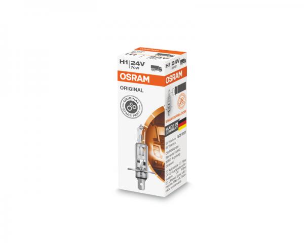 Автолампа 24V OSRAM H1 70W Original