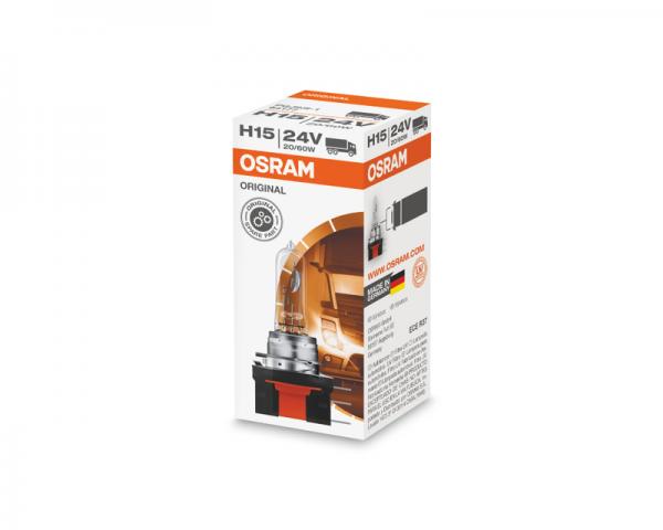 Автолампа 24V OSRAM H15 60/20W Original