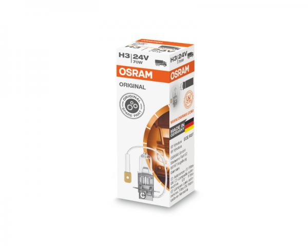 Автолампа 24V OSRAM H3 70W Original