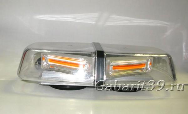 Маяк проблесковый LED 10-30V AT14250 Люстра (желтый)