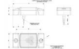 Фонарь габаритный HORPOL LD-140 светодиодный