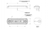 Фонарь габаритный HORPOL LD-675 светодиодный