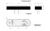 Фонарь габаритный HORPOL LD-957 светодиодный