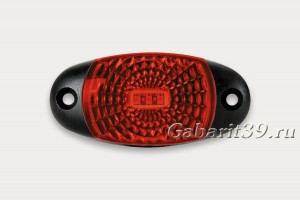 Фонарь габаритный FRISTOM FT-025 светодиодный красный